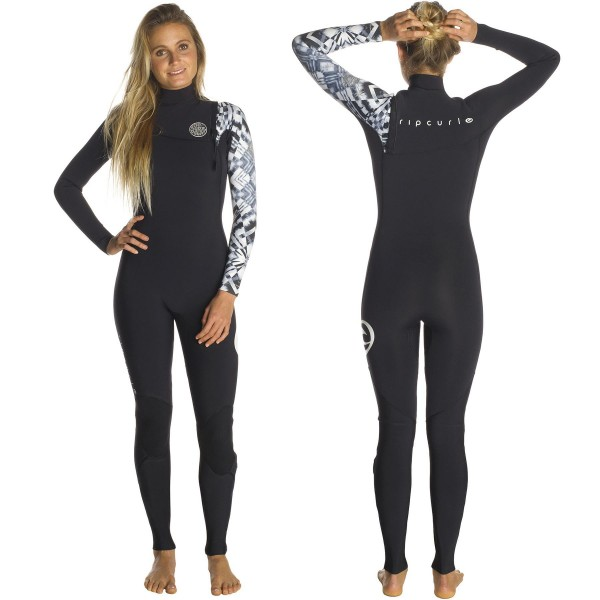 Wetsuit Rip Curl G-Bomb 3 2mm Zip Free f67570076