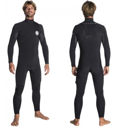 Muta surf Rip Curl Flash-Bomba 3/2mm Zip Free