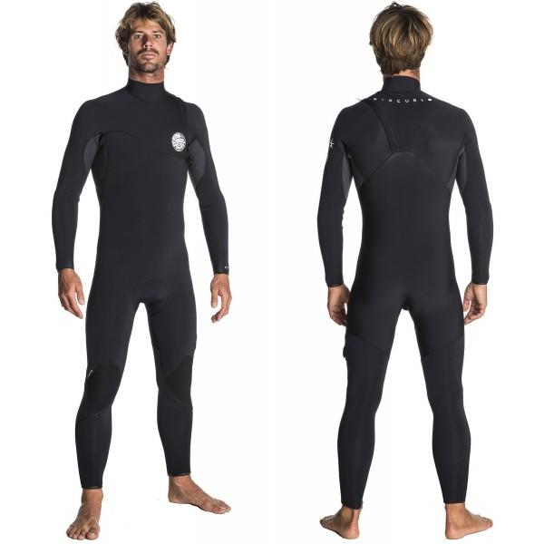 Imagén: Rip Curl 3/2mm Flash-Bomb Zip-Free Wetsuit