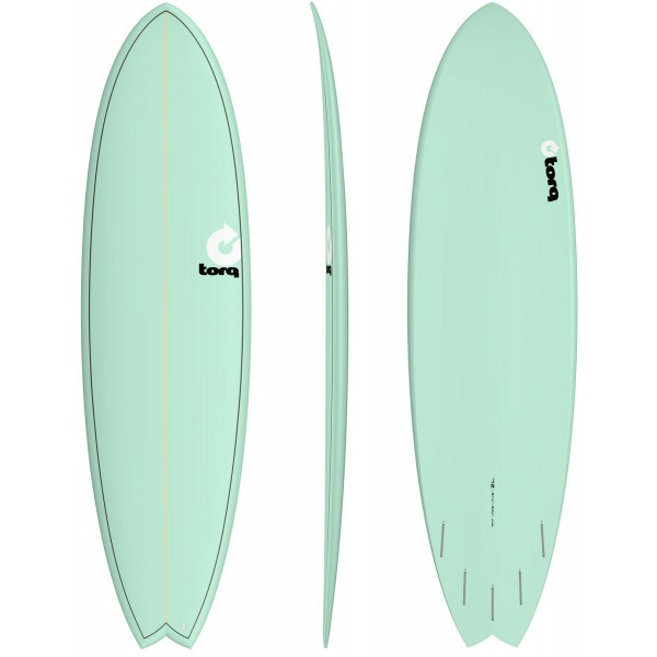 Imagén: Tabla de surf Torq fish Colour (EN STOCK)
