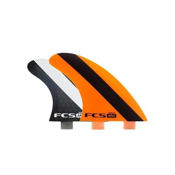Imagén: Quillas de surf FCS ARC Tri-Quad