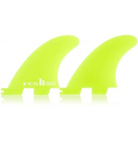 Quad rear fins FCSII Carver neo glass