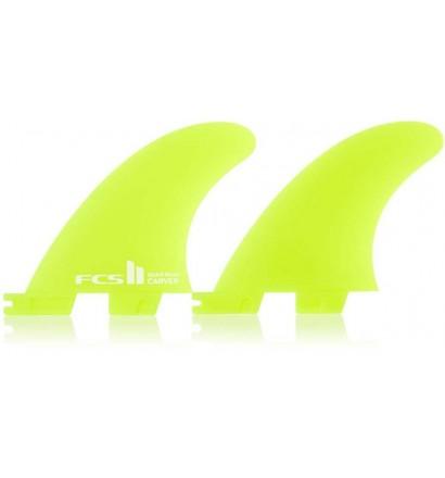 Quad rear fins FCSII Carver neo glass