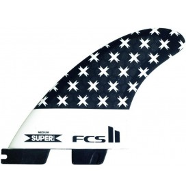 Ailerons de surf FCS II Superbrand PC