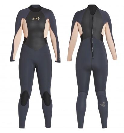 Fato de mergulho XCEL Axis X 4/3mm Womens
