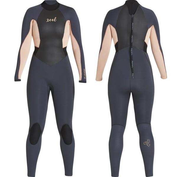 Imagén: Fato de mergulho XCEL Axis 3/2mm Womens