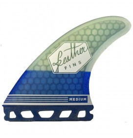Ailerons de surf Feather Fins Ultralight BaseFutures