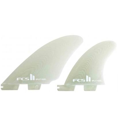Ailerons de surf twin fins FCSII Split Keel