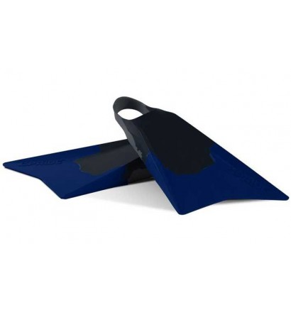 Palmes de bodyboard Pride Vulcan V2 Bleu foncé/Gris