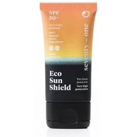 Créme solaire eco sun shield SPF50 Seventy One Percent