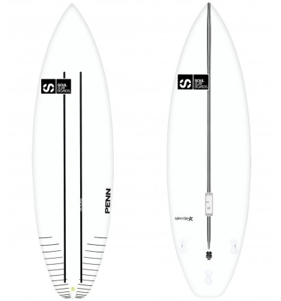 Surfbrett Soul Darkstar CR-Flex 2