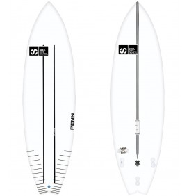 SOUL X-WING gold Surfboard CR-Flex 2