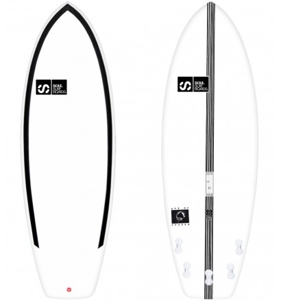 SOUL Ace Of Spades Surfboard