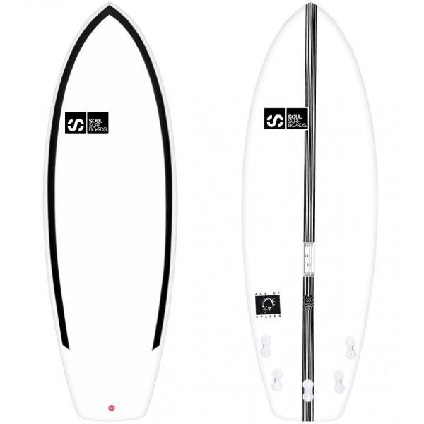 Imagén: Planche de surf SOUL Ace Of Spades EPS Carbon Epoxy