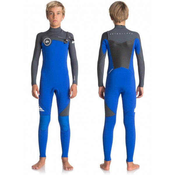 Imagén: Neopreno Quiksilver Syncro Series Junior 4/3mm