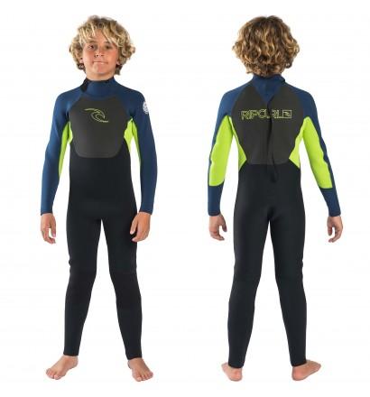 Fato Surf Rip Curl Omega 3/2mm Junior