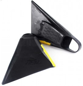 Bodyboard fins Viper Delta 2.0 Black/yellow