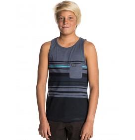 T-Shirt Van Rip Curl Edge Striped Tank