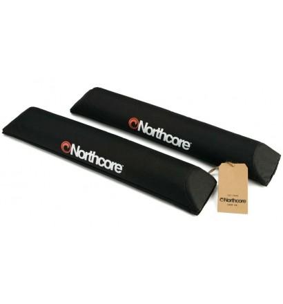 Protecteurs de barre de toit FCS hard rack pads