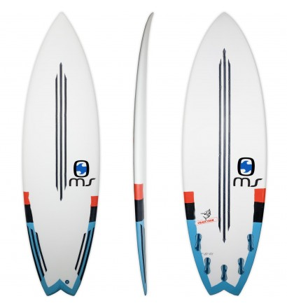Surfboard MS Crazy Fish