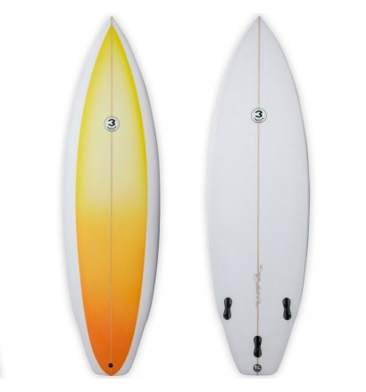 Surfboard Simon Anderson Single Flyer Round Square