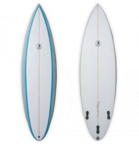 Tabla de surf Simon Anderson Single Flyer Rounded Pin