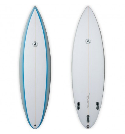 Surfboard Simon Anderson Single Flyer Rounded Pin