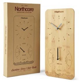 Uhr von ebbe Zeit und Flut Northcore