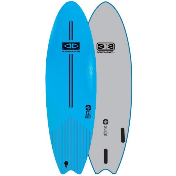 Imagén: Planche de surf softboard Ocean & Earth EZI-Rider Fish (EN STOCK)