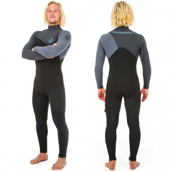 Imagén: Rip Curl 3/2mm Flash-Bomb Zip-Free Wetsuit