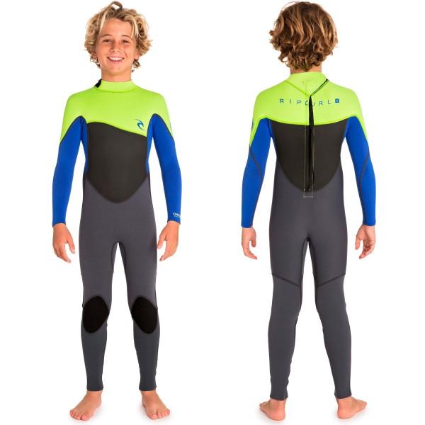 Imagén: Fato Surf Rip Curl Omega 3/2mm Flat Lock Junior