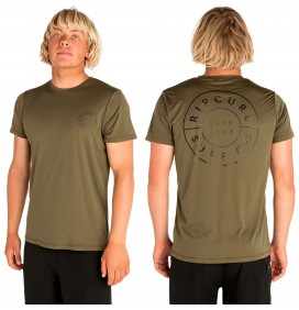 T-shirt Rip Curl UV Compass Surflite