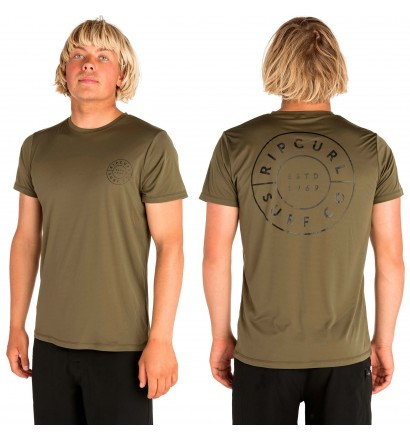 T-shirt Rip Curl UV Compass Surflite