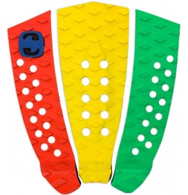 Grip de surf MS 3 pieces Tricolor