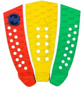 Grip de surf MS 3 piezas Tricolor
