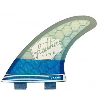Quilhas surf Feather Fins Ultralight Base Hex Core