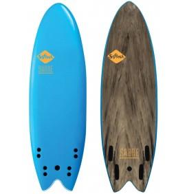 Surfboard Softech Handshaped Quad
