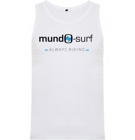 Sleeveless T-shirt Mundo-Surf