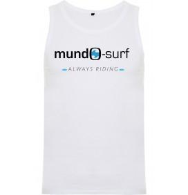 T-shirt sem mangas Mundo-Surf