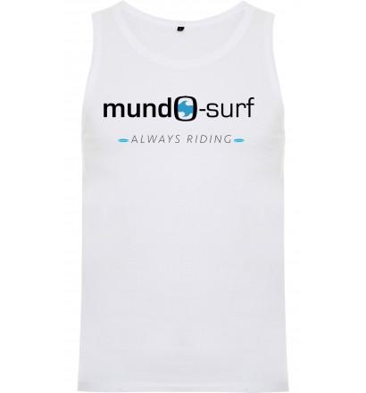 T-shirt senza maniche Mundo-Surf