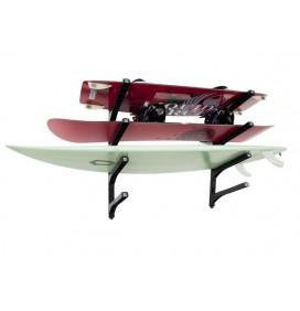 Wandbevestiging voor 4 surfplanken Nice Rack