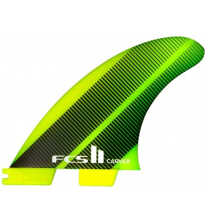 Quilhas surf FCSII Carver Neo Glass