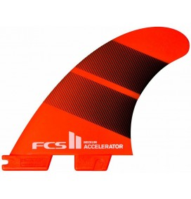 Quilhas surf FCS2 Accelerator Neo Glass