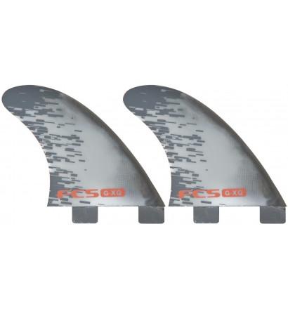Ailerons de surf FCS PC Quad Rear