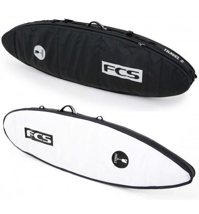 Boardbag FCS dubbel Travel 2 All Purpose