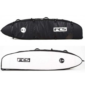 Capas de surf triplo FCS Travel 3 wheelies Funboard