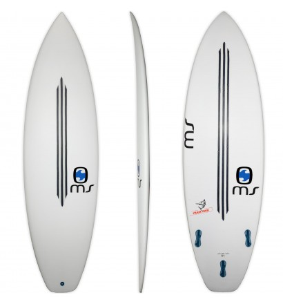 Surfboard MS Crazy Fish Squash CFE