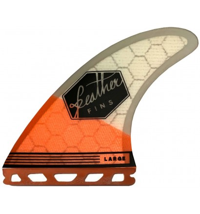 Quilhas surf Feather Fins Ultralight Base Hex Core Futures