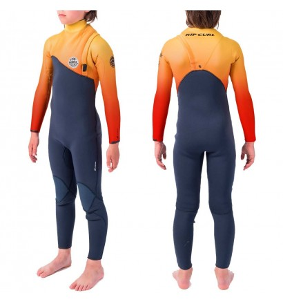 Rip Curl 4/3mm Flash-Bomb Zip-Free  Junior Wetsuit