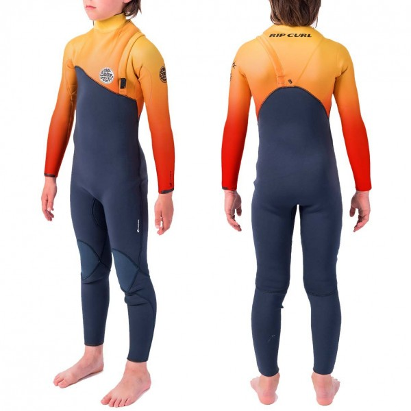 Imagén: Rip Curl 4/3mm Flash-Bomb Zip-Free  Junior Wetsuit